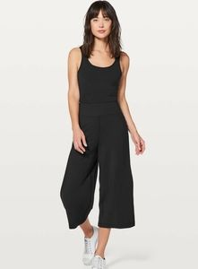 Lululemon Blissed Out Black Cullottes